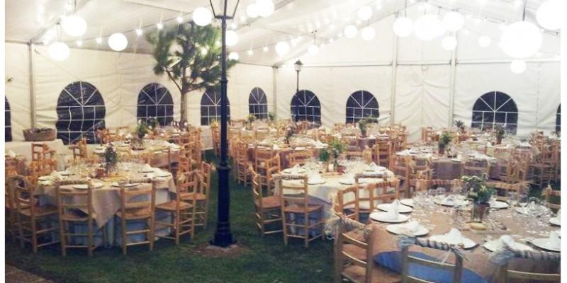 Decoracion de carpas para bodas awesome carpa para boda - Decoracion de carpas para bodas ...