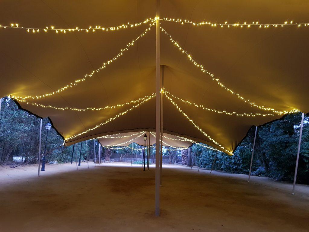 Iluminación para eventos de navidad en Sevilla