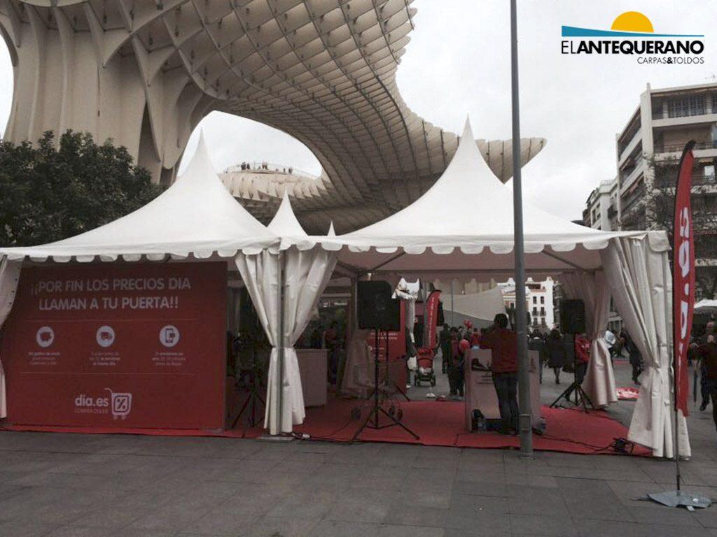 Jaimas para eventos y bodas en Sevilla