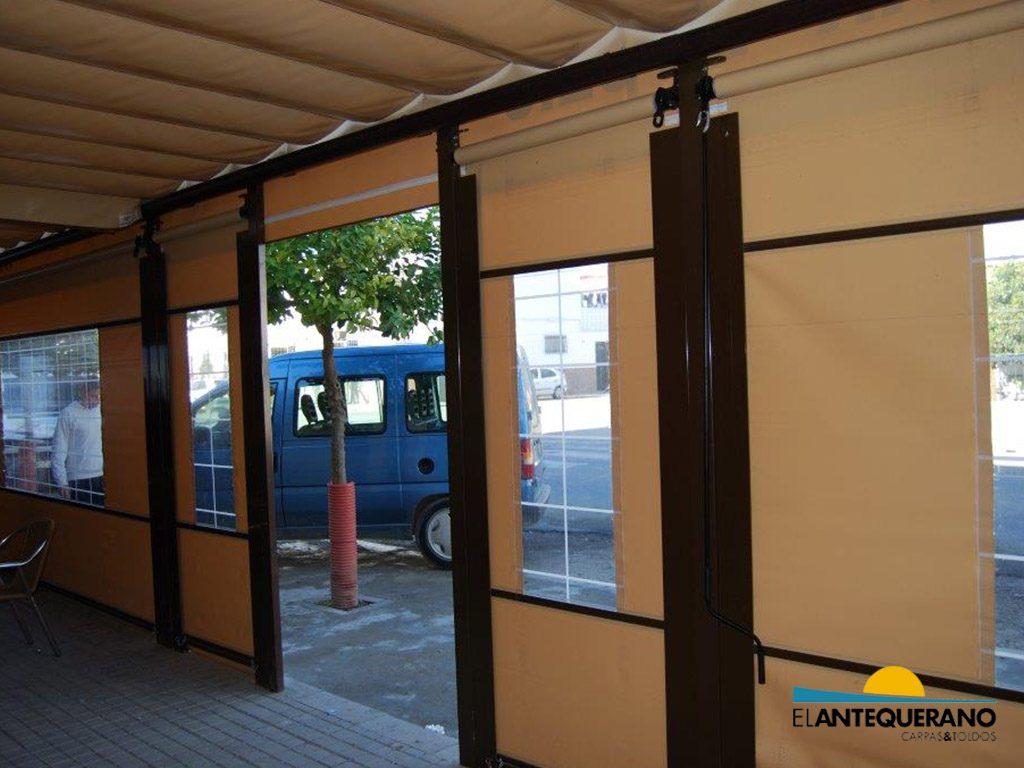 Tipos de toldos para terrazas carpas y toldos el antequerano - Tipos de toldos para terrazas ...