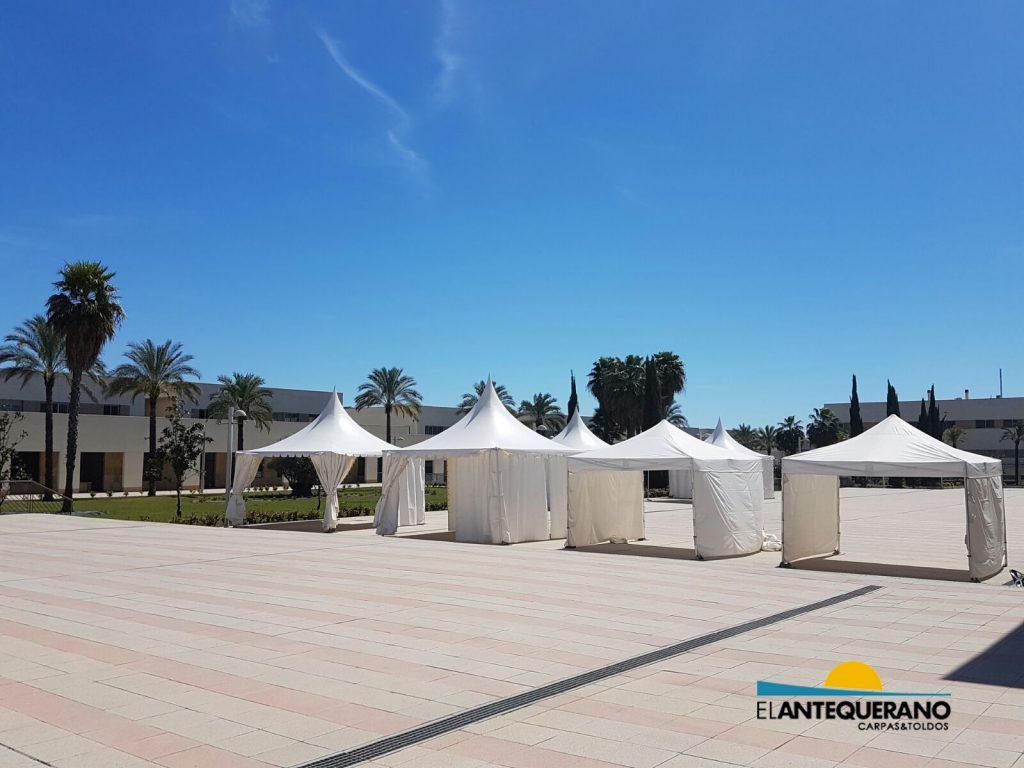Jaimas para eventos en Andalucía
