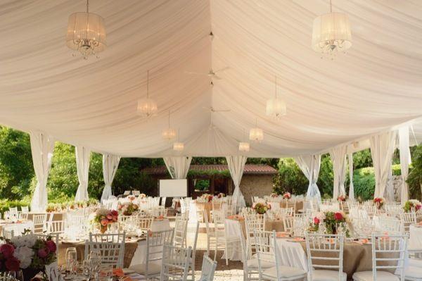 Decoración y montaje de carpas de boda